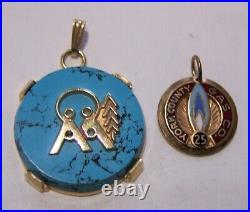 10k solid gold wear scrap melt repurpose variety rings pendant earrings 24.8g
