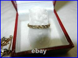14k yellow gold ring + earrings + pendant + charms 3.14 grams not scrap wearable