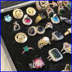 35 Fashion Rings, Earrings Pendants size 6-7