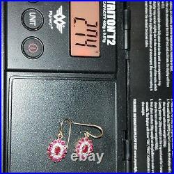 9ct 18ct Rings Pendant Earrings Bulk Lot NOT Scrap 13.41grams 3 day Auction