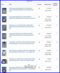 All HUGE Entire Collection JAY KING GENUINE GEMSTONES RING EARRINGS NECKLACE