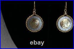 BELLEZZA TR 100 Lira coin Pendent plus Earrings Bracelet & pendent Ring SET