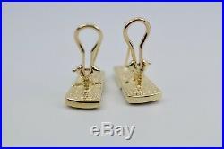 Bernard K Passman 18k Yellow Gold Coral And Diamond Ring, Earring Pendant Set