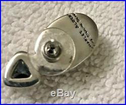 Charles Albert Mercury Mist CZ Sterling 5 Piece Ring Pendant Earrings Bracelet
