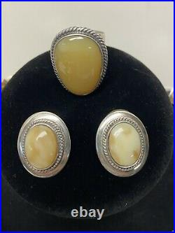 DTR Desert Rose Trading Jay King. 925 Sterling Necklace Pendant Ring & Earrings