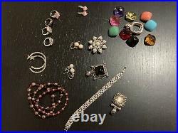 Huge Lot of Premier Designs Jewelry Necklaces Bracelets Rings Earrings Pendants