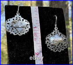 ISRAEL Didae Shablool Sterling Silver 925 Vine Pendant Necklace Earring Ring Set
