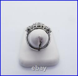 JARED $9000 Certified Matching Halo Diamond 5 Piece set Earrings Pendant, & Ring