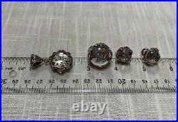 JOHN HARDY Diamond Rock Crystal Lens Butterfly Pendant Ring Earrings Collection