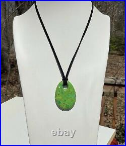 Jay King Chaco Canyon Silver Green Turquoise Ring Earrings Necklace Pendant Set