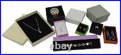 Jewellery Vibrant Box -Ring, Earring, Pendant, Uni, Bracelet, Watch, Bangle, Necklace