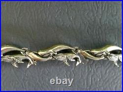 Kabana Whale Lovers slide pendant, 2 sets earrings, bracelet, ring sterling