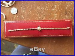 Lot of earrings, ring, pendant and Gold Bracelet With Turtle Ruby Eyes 14K, 22.7g