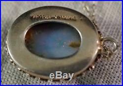 Martelli Jelly Opal Set in Silver Pendant Earrings & Ring Great Coloring