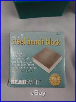 Metal Stamping Jewelry Kit Learn Beaducation Stamps Tools More Starter set