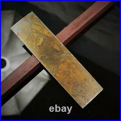 Mokume Gane Big Blank. Hand forge for crafting, unique pattern