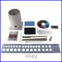 PMC Precious Metal Clay Silver Pot Starter Kit for Rings & Jewelry + Tools Kiln