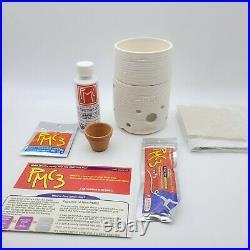 PMC3 Hot Pot Kit with pure Silver Metal Clay Kiln Fuel see pics! Mitsubishi