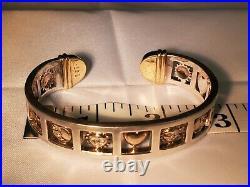 Sergio Bustamante Moon & Sun Signature Bracelet Ring Pendant Earrings Lot