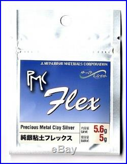 Start Kit PMC3 Flex Mitsubishi Materials silver clay JAPAN pmc metal
