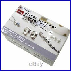 Sterling silver clay PMC3 Silver mini pot starter kit japan