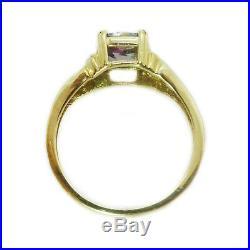 Stunning Solid Gold Mystic Topaz Pendant, Ring & Earrings Set