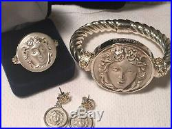 Tagliamonte Sterling & 14K Bracelet, Ring And Earrings