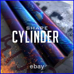 Titanium Multi-Layer Cylinder, hand forge for jewelers, making rings