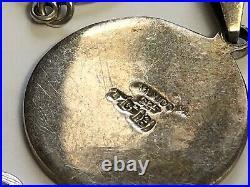 Vintage Lot of Sterling Silver Jewelry Bracelets Earrings Pendants Ring