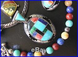 Vintage Navajo Pendant. Carolyn Pollack Relios. Ring. Bracelet. Earrings