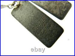 Vtg MCM Deco Jorgen Jensen Denmark #230 Pewter Bracelet Earrings Ring Pendant